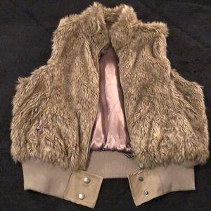 Faux Fur Vest. Never worn!